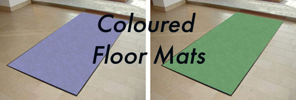 Coloured Floor Mats for Any Occasion