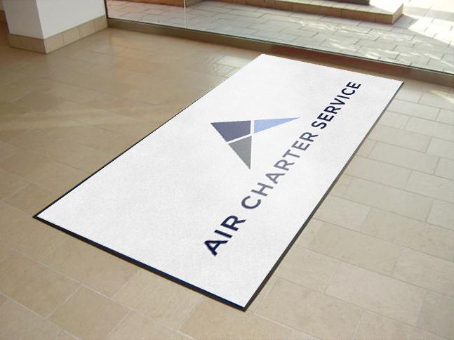 Air Charter Service Printed Door Mat