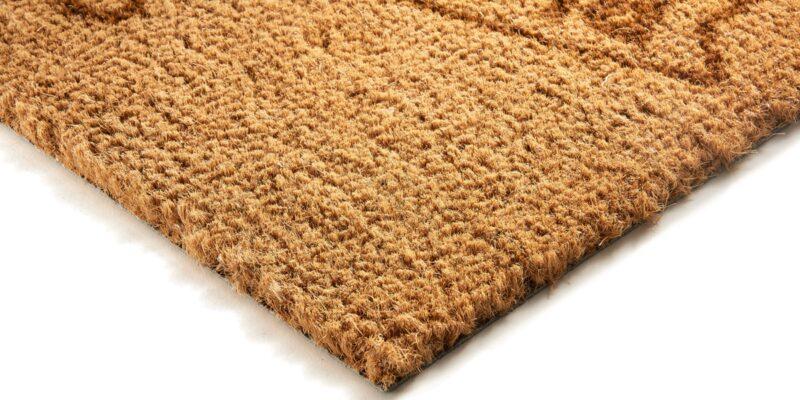 Coir mat edge