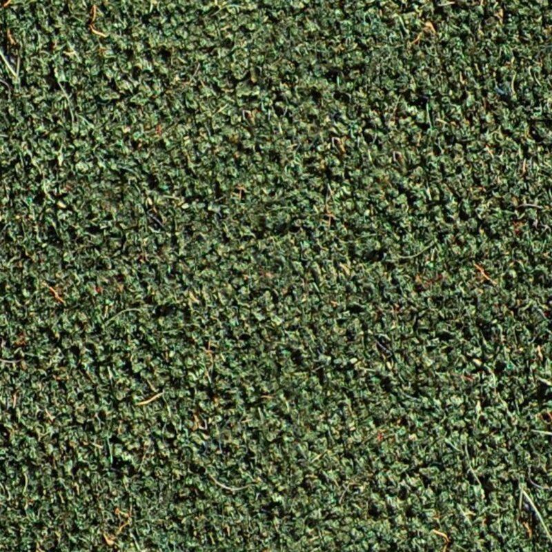 Green coir matting