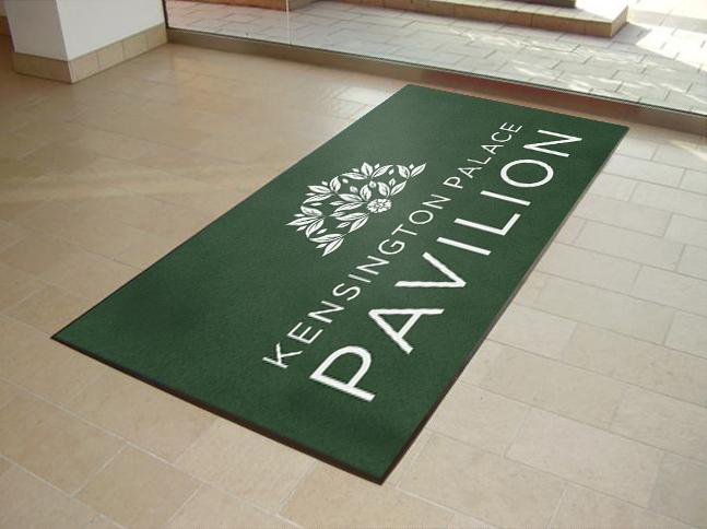 Kensington Palace Pavilion Printed Door Mats