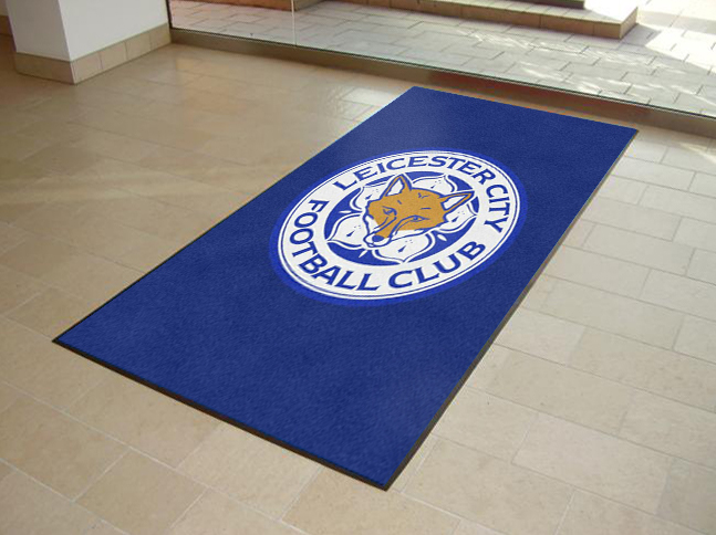 Leicester City Printed Door Mats