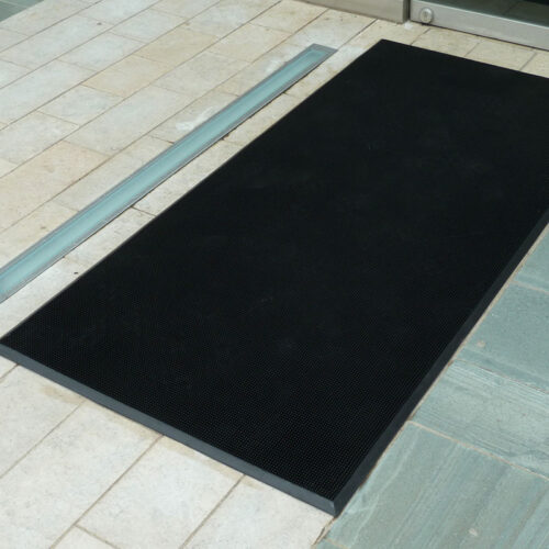 Outdoor Rubber Bristle Mats