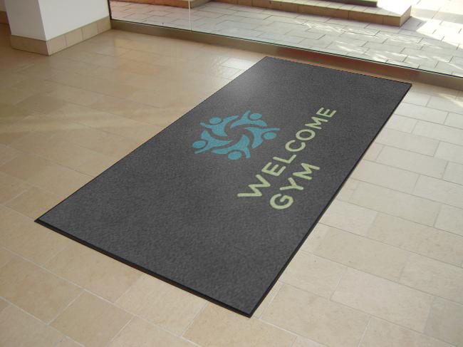 Welcome Gym Floor Mats
