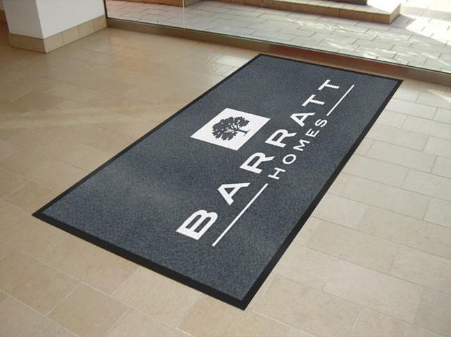 Custom Printed Logo Mats for Barratt Homes