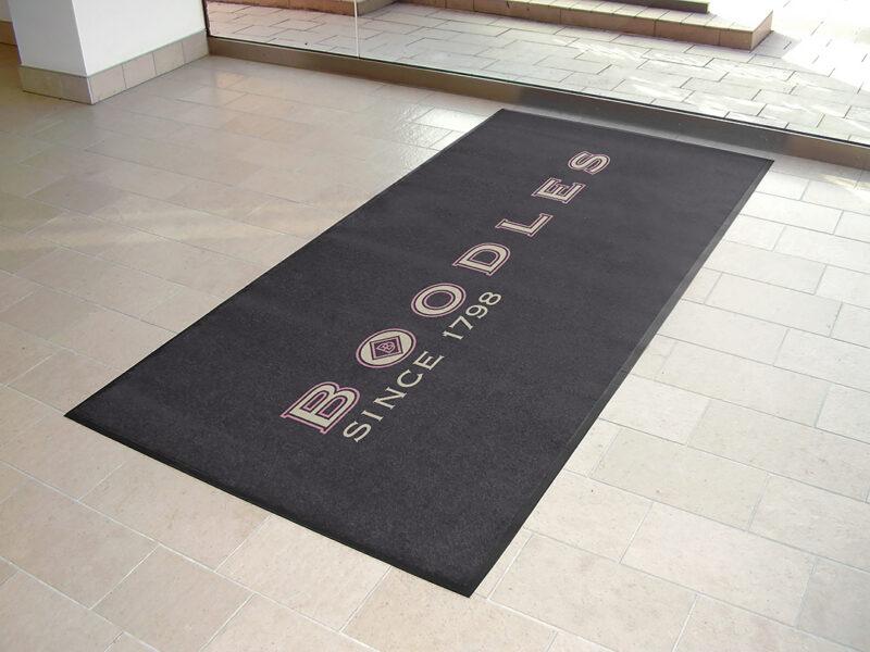 Boodles Printed Door Mats for Entrances