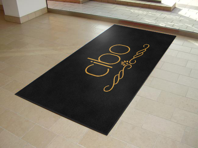 Cibo Entrance Logo Mats