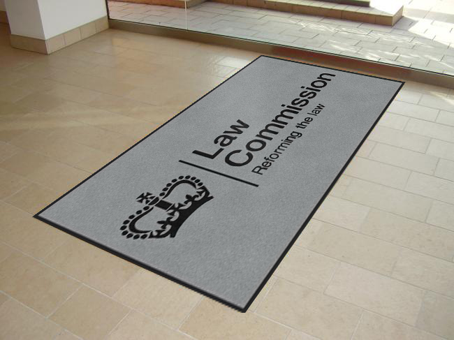 Entrance Logo Mats for Law Commission