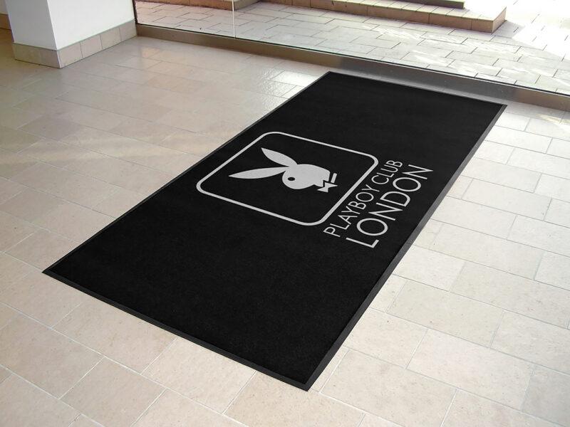 Playboy club logo mats