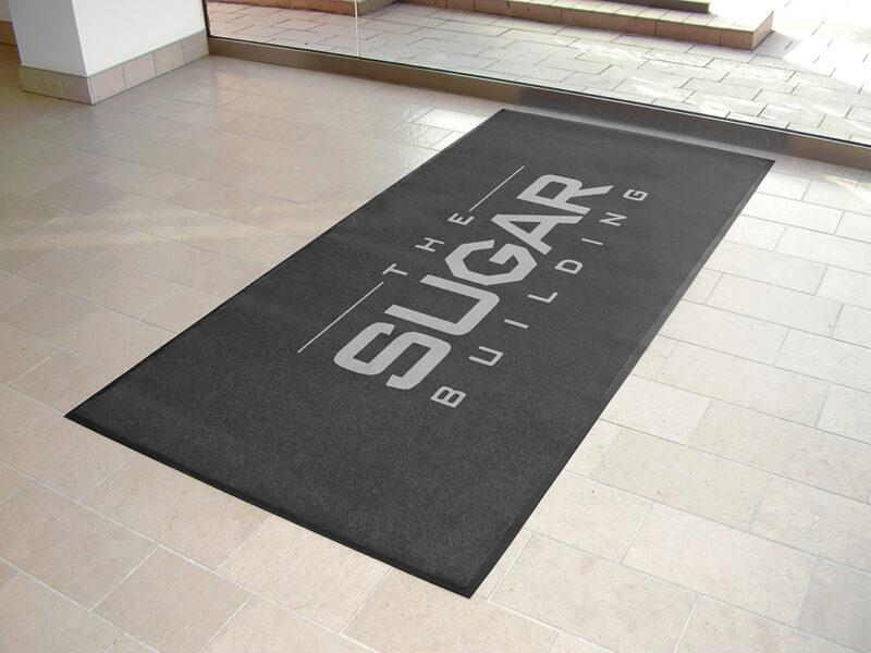 Alan Sugar office logo mats