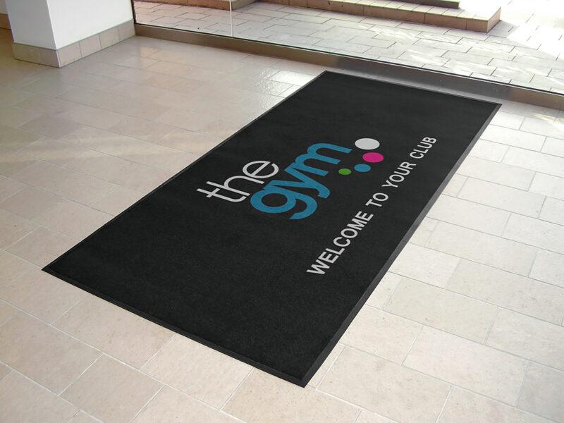 Gym Logo Mats