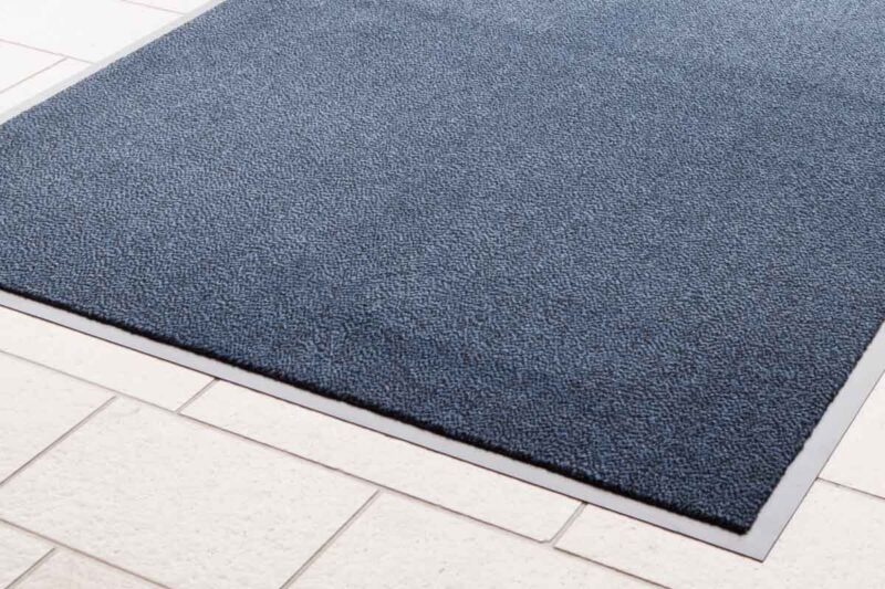 Budget Entrance Mat Blue