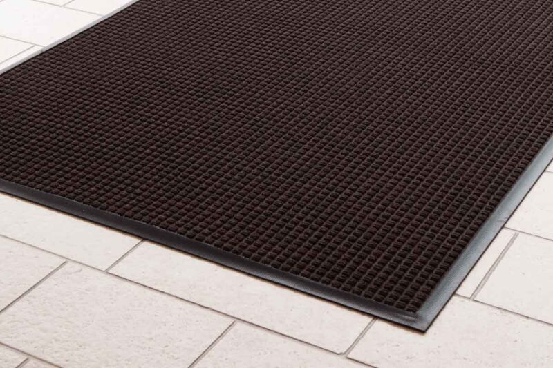 Absorbent Water Trapper Mats Brown