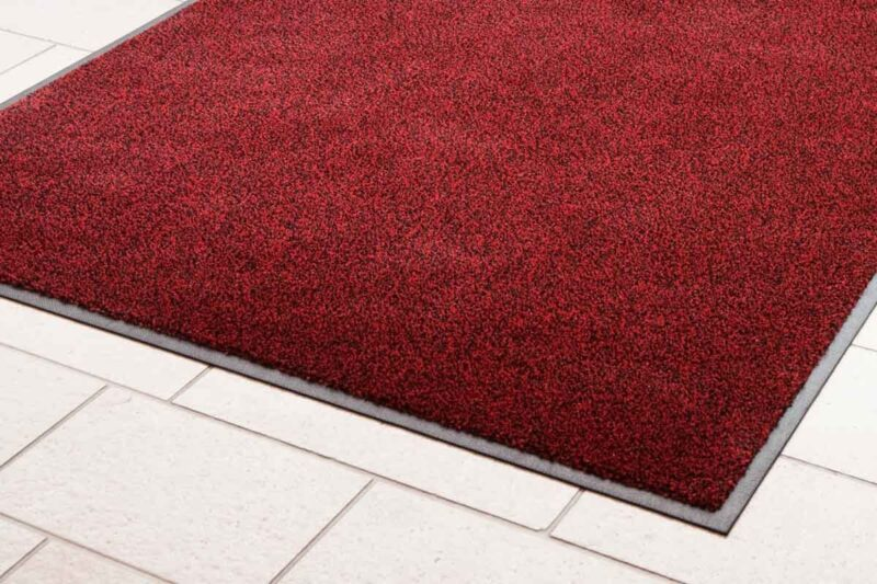 Red Made to Measure Heavy Duty Entrance Mat
