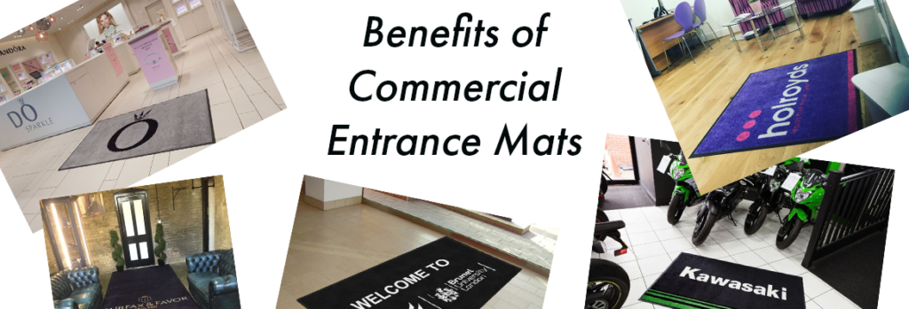 What Are the Benefits of Commercial Entrance Mats?