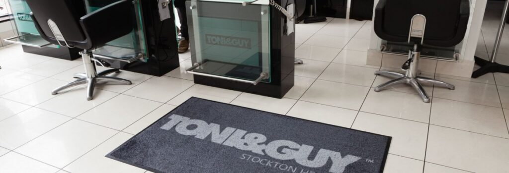 Anti Fatigue & Logo Mats For Hairdressers