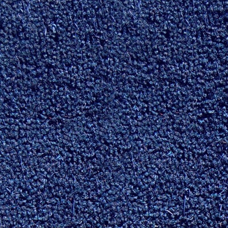 Blue coir matting