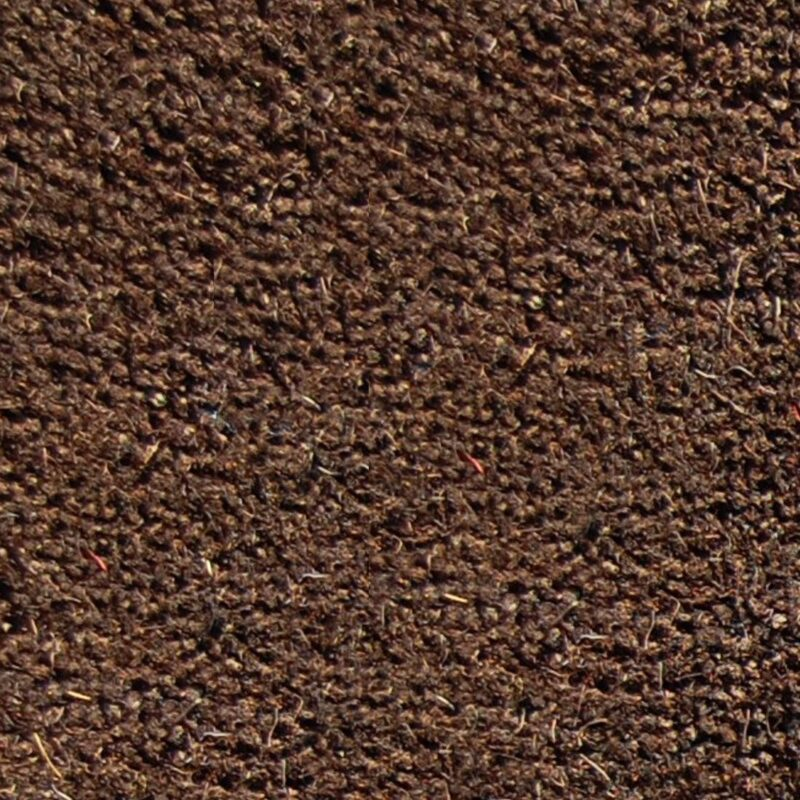 Brown coir matting